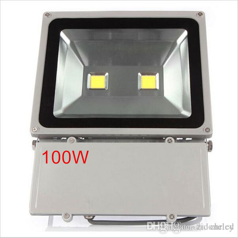 1pcs 100W Led Floodlight 2pcs 50W Chip Waterproof Outdoor Led flood light AC85-265V Outdoor Led Spotlight Outside Led Reflector