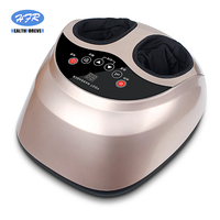 HealthForever Brand Relax Multi function Airbag Rolling Kneading Shiatsu Electric Foot Massager