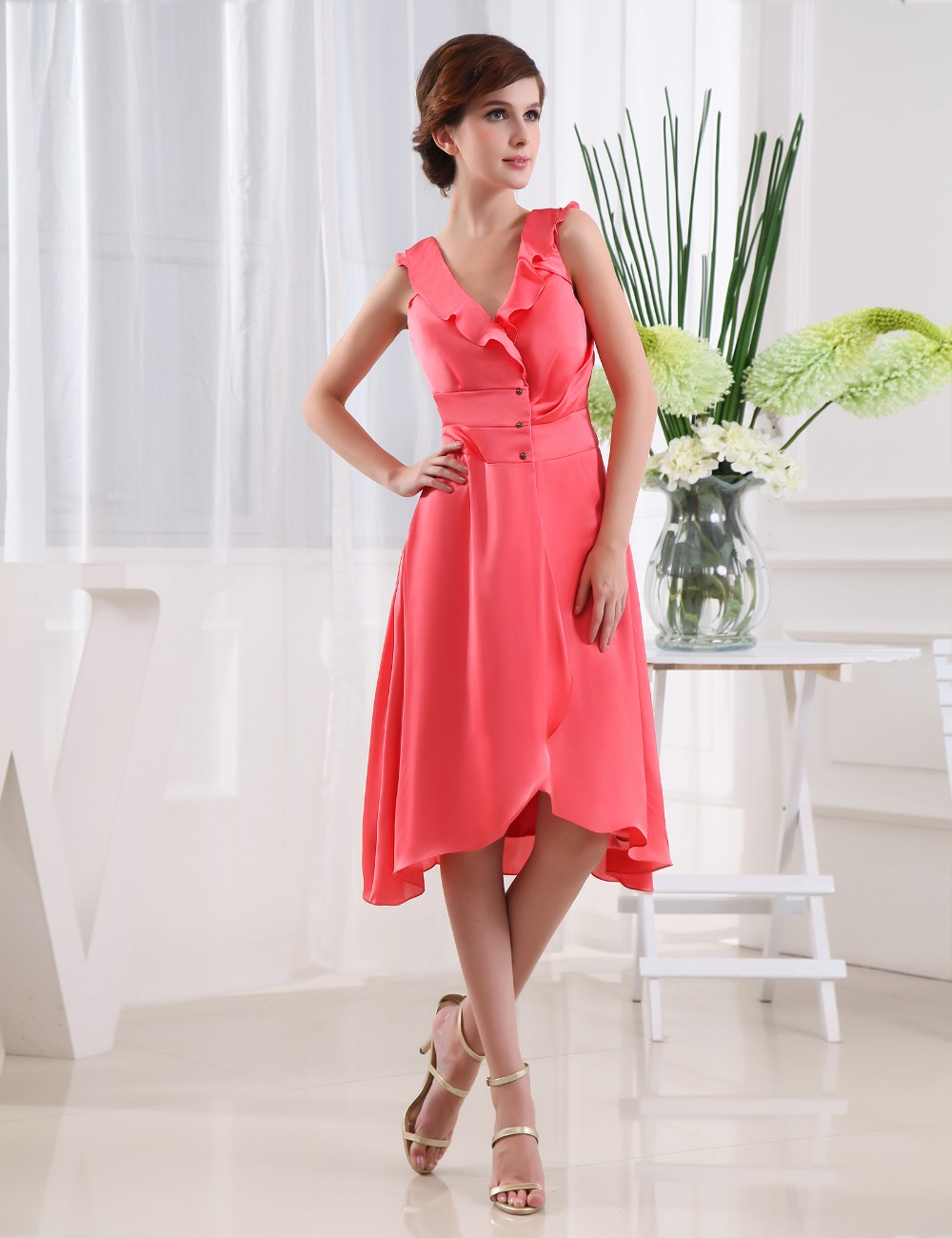 Online buy wholesale cheap wedding guest dress from china for Cheap wedding dresses for guests