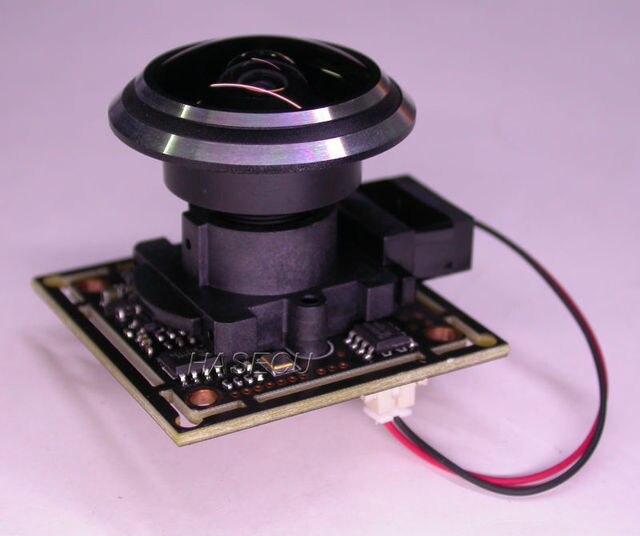 """Más amplio ángulo de 1,9mm de la lente 1/2 8 """"con sensor Sony Exmor STARVIS CMOS IMX291 + NVP2441 CCTV Cámara módulo PCB junta con OSD cable + IRC"""