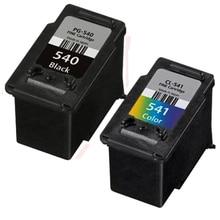 2x cartuchos de tinta multipack compatible canon pg 540xl & cl 541xl para pixma mx374 mx475 mx515 mx525 mx535 mx455 mx395