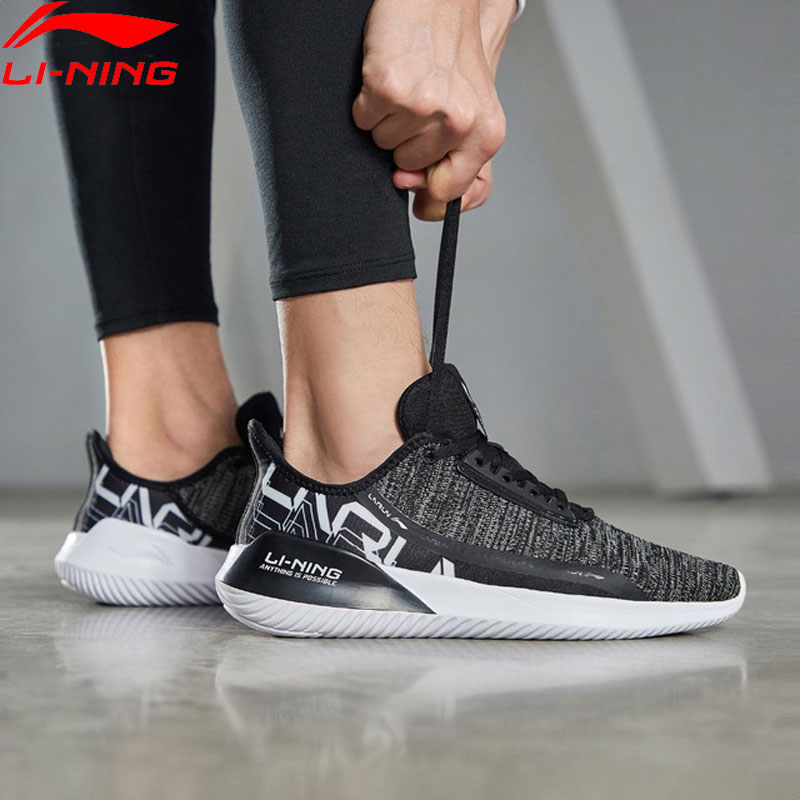Li-Ning Men ACE RUN Cushion Running Shoes Breathable Mono Yarn Light LiNing Li Ning Sport Shoes Sneakers ARHP051 XYP879