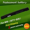 JIGU Laptop battery BTY-S25 BTY-S27 BTY-S28 MS1006 MS1012 MS1013 MS1057 MS1058 for MSI MEDION Akoya S2210 S2211 SAM2000 SIM2000