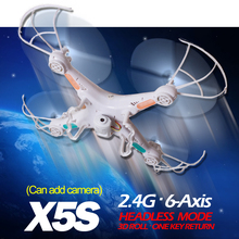 TS X5S 2 4G RC Helicopter 4CH Quadcopter Remote Control Drone With without Camera OneKey Return