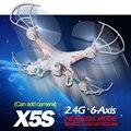 Ts X5S 2.4 G 4CH RC Helicopter Quadcopter controle remoto zangão com / sem câmera OneKey retorno melhor do que Syma X5C X5-1 X5C-1