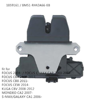 free shipping for FORD FOCUS MK2 KUGA MONDEO SMAX TAILGATE LOCK CATCH LATCH 1859161 8M51 R442A66 EB Without Cover