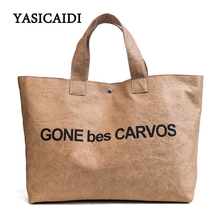 Letter Pu Leather Handbag Women Casual Tote Bag Top Hand Bag High Quality Capacity Shoulder Bag Strap Messenger Bag Vintage