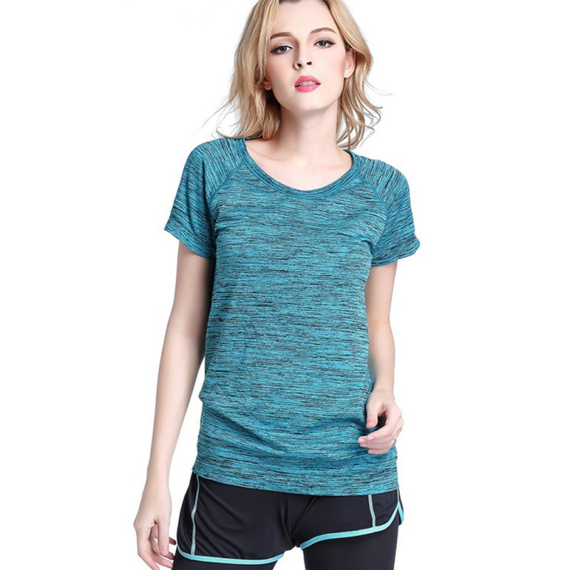 Detail Feedback Questions about Female T shirt Hot Women Short Sleeves  Hygroscopic Quick Dry Shirt Fitness Tracksuit T shirt Ladies Tops Shirts on  ... c3e728c02