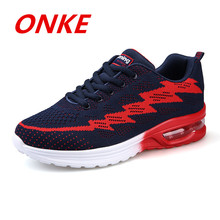 2017Onke New Brand Running Shoes Men Women Outdoor Light Sports Shoe Breathable Athletic Training Run Sneakers