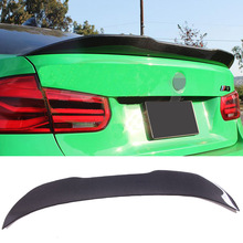 P-M Style Carbon fiebr Trunks Spoiler Fit For BMW F80 M3