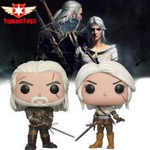 The Witcher 3 Wild Hunt Action Figures the Witcher Geralt Vinyl Action Figure Collectible Collector s