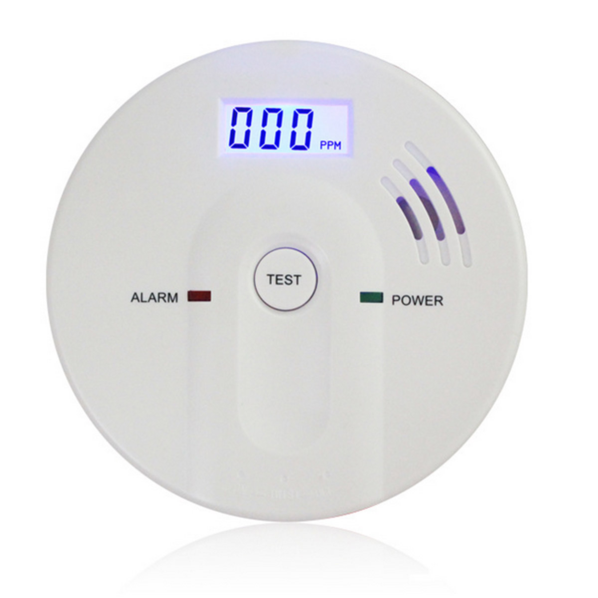 Home Security 85dB Warning High Sensitive LCD Display 433MHz Wireless CO Gas Sensor Carbon Monoxide Poisoning Alarm Detector