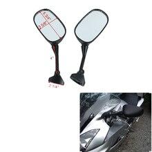 Motorcycle Left Right Rear View Mirrors Mirror For HONDA VFR800 VFR 800 FI V-TEC 2002-2008 2007 2006 2005