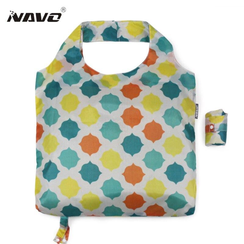 navo sacolas de mantimento reusáveis Folding Bag Color : Mix Color Folding Bag