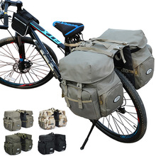 Outdoor riding mountain bike bicycle bag waterproof double-sided frame back pocket high quality luggage