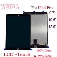 WEIDA 9.7 For iPad Pro 9.7 Pro 10.5 Pro 12.9 LCD Display Touch Screen Assembly Replacement A1673 A1674/ A1701 A1709/A1670 A1671
