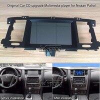 8 inch Original Car CD upgrade Multimedia player for Nissan Patrol (Original Car with Glove Box) with GPS Wifi