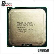 إنتل كور 2 المتطرفة QX9650 3.0 GHz رباعية النواة معالج وحدة المعالجة المركزية L2 = 12M 1333 LGA 775