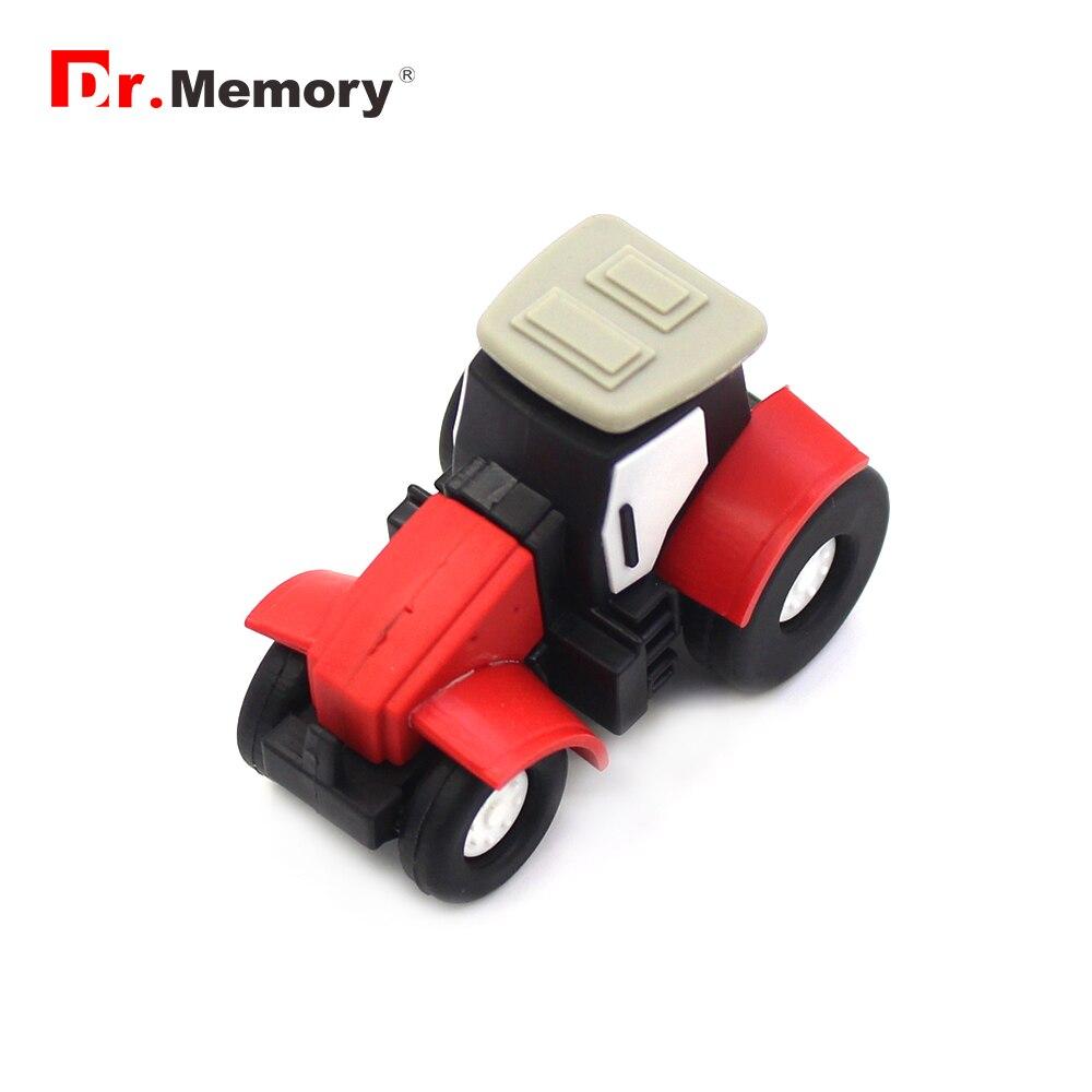 Flash Drive 4GB 8GB 16GB 32GB  64GB Tractor USB Pen Drive Mini Memory USB Stick