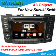 100% Android!!! Car DVD GPS Player for Suzuki Swift 2012 Car GPS for Swift Car Recorder for Swift Car Navigation for Swift