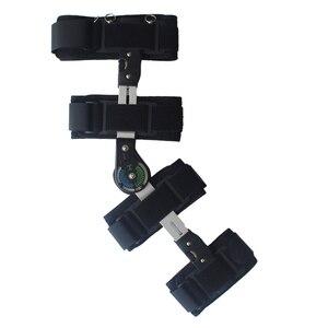 Image 4 - Khớp gối hỗ trợ góc có thể được điều chỉnh, tác cố định, ổn định gãy xương hỗ trợ, bong gân, xương đùi điều chỉnh.