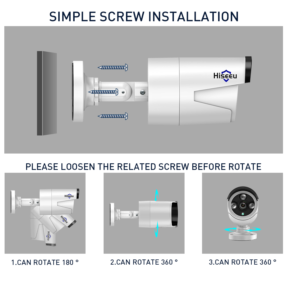Image 4 - 2MP 1080P CCTV System 8ch HD Wireless NVR kit 3TB HDD Outdoor IR Night Vision IP Wifi Camera Security System Surveillance Hiseeu-in Surveillance System from Security & Protection