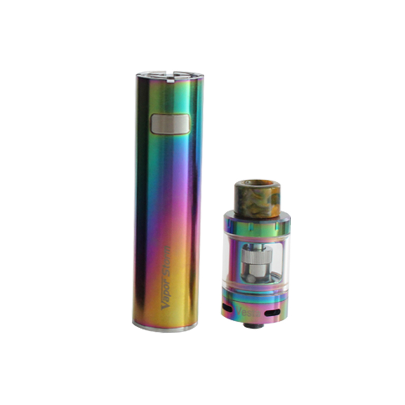 Vapor Storm Original Electronic Cigarette Mars 0.3ohm Top E-juice Refill Tank e-cigarettes 2600mah Battery Vape E Cigarette Kit