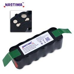 Nastima Ni-MH 14.4V 4850mAh Batterie Pour iRobot Roomba R3 500,600,700,800 Série 530 552 570 580 595 650 690 695 770 780 870 880