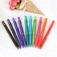 Japan Pilot FriXion 1 Set 10 Colors Magic Erasable Press Touchable Gel Ink Pen School Office