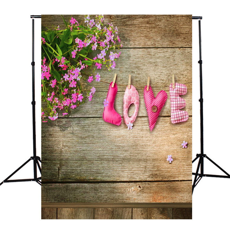 3x5ft Vinyl Board Lovers Love Theme Photography Background For Studio Photo Props Photographic Backdrops cloth 90 x 150cm 150x90cm pink valentine s day vinyl studio backdrop love theme photography background cloth photo props wedding party favor