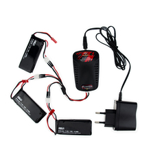 Hilbert 7.4V 610mAh lipo battery 15C batteries JST plug and charger For Hubsan X4 H502S H502E rc Quadcopter drone Parts