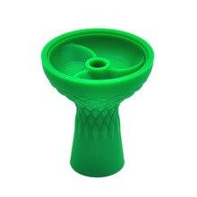 3 Screw Silicone Shisha Hookah Bowl Silicone Head For Shisha Charcoal