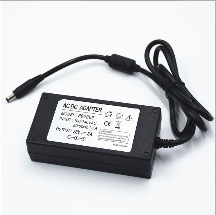Free Shipping Manufacturers Supply 28V 3A Switching Power Supply 28V 3A Power Adapter 28V 3A DC Power Supply