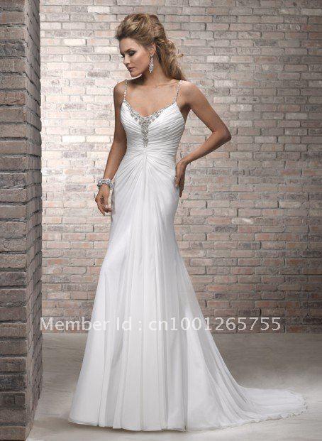 Designer Beach Wedding Dresses - Ocodea.com