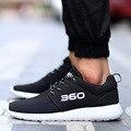 Zapatos de los hombres 2017 de Los Hombres Cómodos Zapatos de Malla Transpirable Zapatos de La Manera Más El Tamaño 34-46