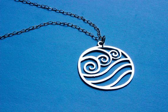 Wave Necklaces Water Drop Symbols Choker Necklaces For Women Ol