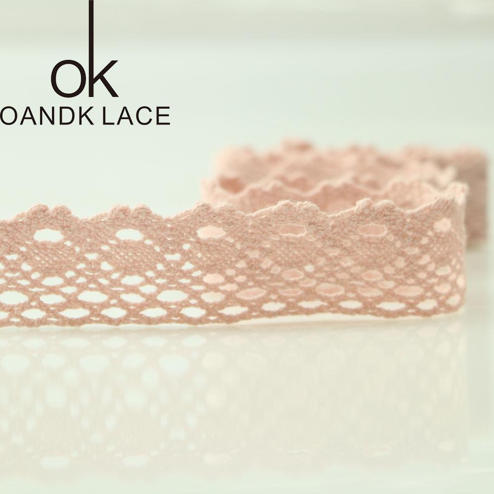 HTB1Ske4KeuSBuNjSsplq6ze8pXay 4YARD Apparel Sewing Fabric DIY Ivory Cream Black Trim Cotton Crocheted Lace Fabric Ribbon Handmade Accessories Craft 11021
