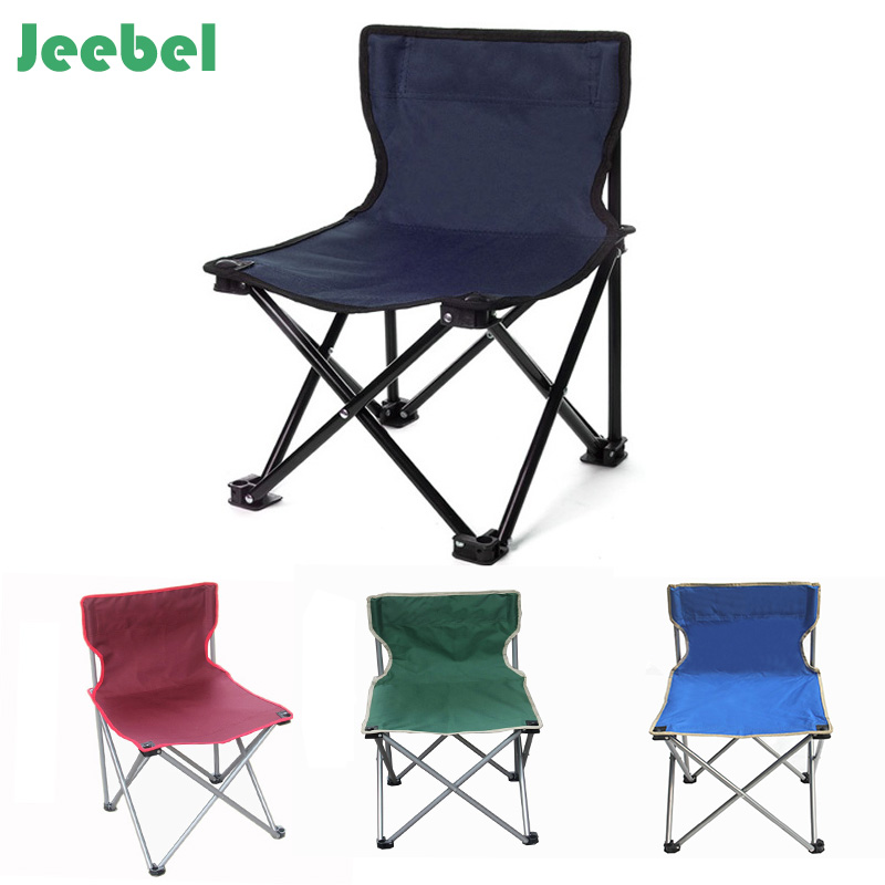 Jeebel Outdoor Leisure Folding Chairs Camping Portable Chair Fishing Chair Picnic Barbecue Sketch Chair outdoor leisure all aluminum beach picnic stall fishing driving lift portable folding tables and chairs