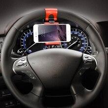 FLOVEME Universal Steering Wheel Navigation Car Socket Holder For iPhone 7 6 6s Plus 5 5s