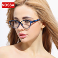 NOSSA Brand High Definition Glasses Frame Fashion Colorful Women's Myopia Optical Glasses Frame