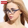 NOSSA Marca De Alta Definição Óculos De Armação de Moda das Mulheres Coloridas Miopia Vidros Ópticos Quadro