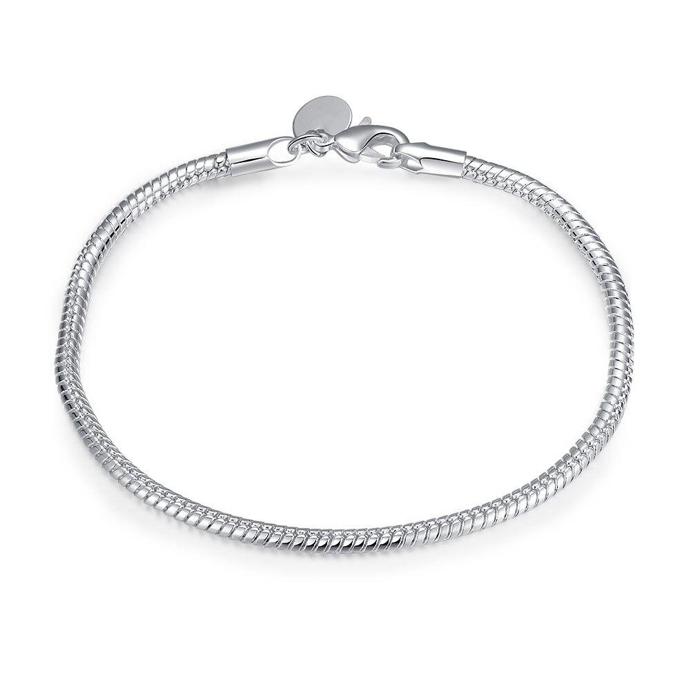 Men Jewelry Silver Bs