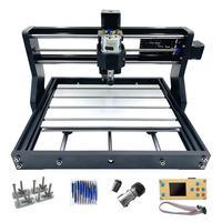 DIY Mini CNC 3018 Pro+Offline CNC Laser Engraving Machine Wood Acrylic Carving Wood Router/Laser Engraving/Craved metal