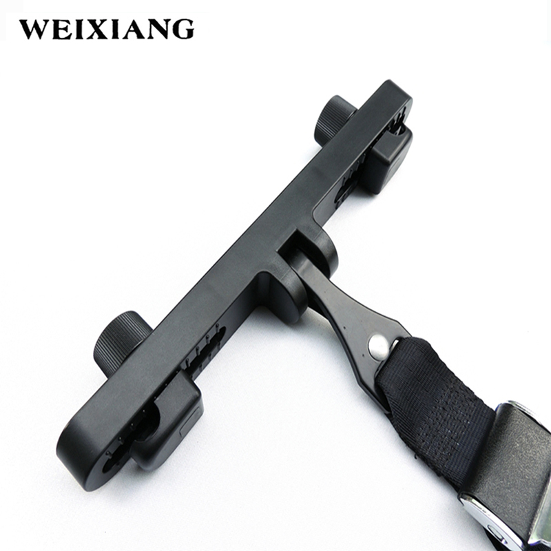 Universal Latch Interfaces Guide Bracket Baby Car Safe Belt Holder Latch Retainer For Child Safety Seat Adjustable