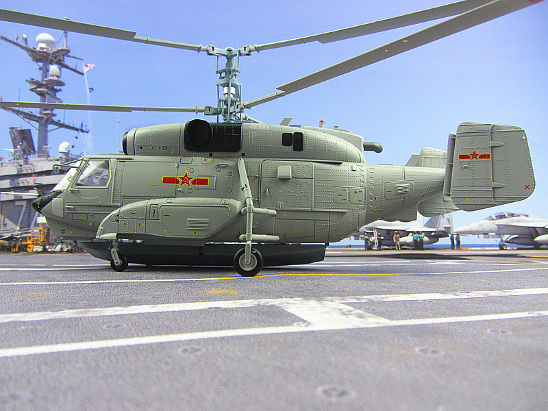 Карта модели вертолета 31/KA31, модель самолета из сплава, военный подарок 1:43, CPLA ВВС Китая