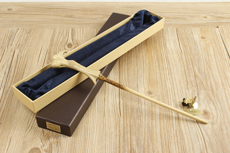 2018 Metal Core Harry Potter Newest Quality Deluxe COS Lord Voldemort Magic Wands/Stick with Gift Box Packing Christmas Gift