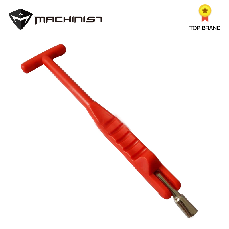 1pc Tire Valve Nozzle Puller Mounting Tool Wrench Valve Nozzle Vacuum Nozzle Drawing Steel Plastic