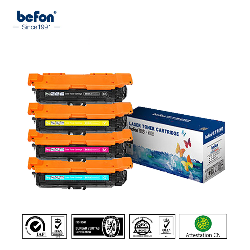 befon CE250X CE251A CE252A CE253A 250 251 252 253 Color Toner Cartridge Compatible for HP CP3525 CP3025 CM3530 картридж hp ce252a