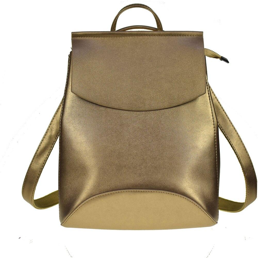 Fashion Women Backpack High Quality Pu Leather Backpacks For Teenage Girls Female School Shoulder Bag Bagpack Mochila #6