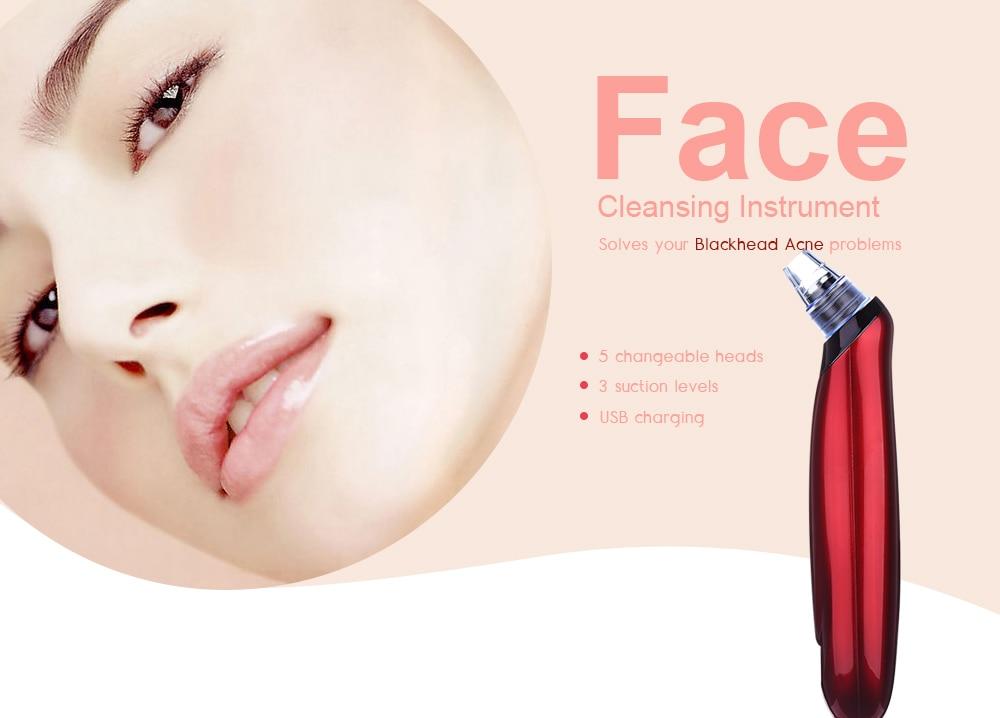 Blackhead instrument pore cleaner to blackhead artifact electric acne machine to blackhead allinonehere.com